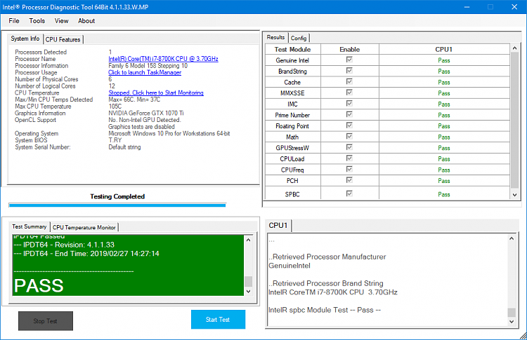 intel cpu overclocking software windows 10