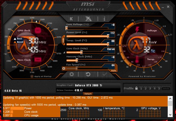 Latest MSI Afterburner Betas & Updates - Page 23 - Windows