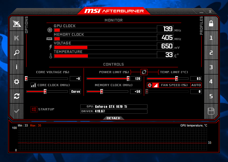 Msi Afterburner Beta 16  I changed this wallpaper to have the AMD