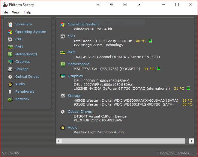 Click image for larger version.  Name:System Temps and Specs.PNG Views:9 Size:42.2 KB ID:28523