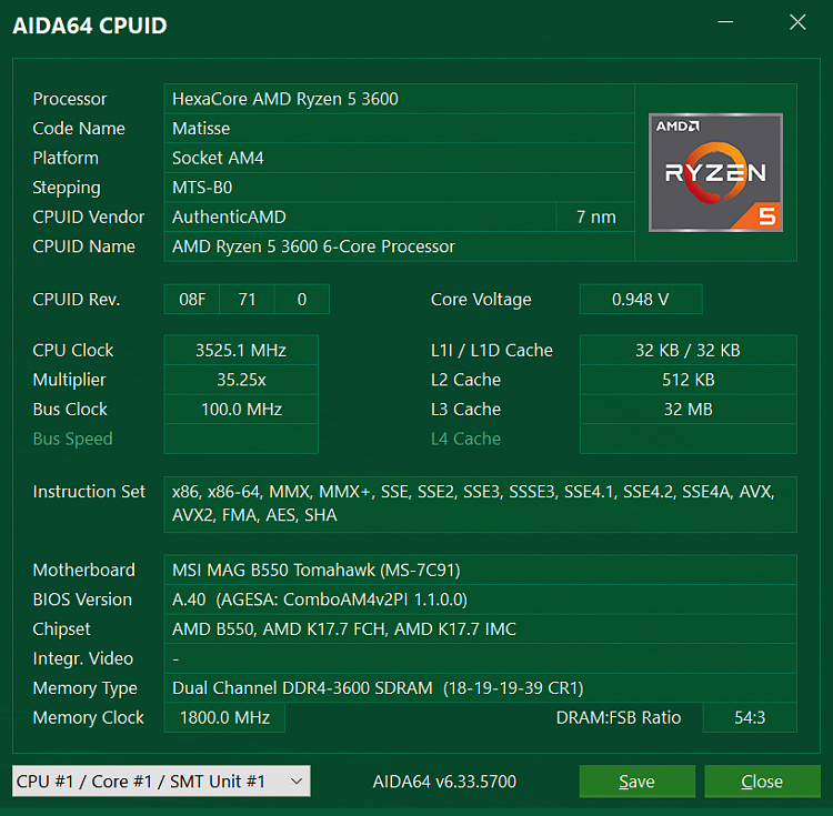 Is 3600mhz memory stable for R7 3700x ?-cpuid.png