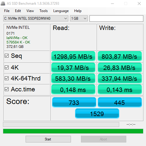 Click image for larger version.  Name:X99 AS SSD Benchmark MBps.PNG Views:21 Size:27.7 KB ID:49577