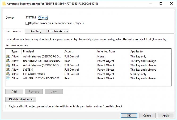 Windows 10 Event ID 10010 and 10016 Errors With DistributedCOM