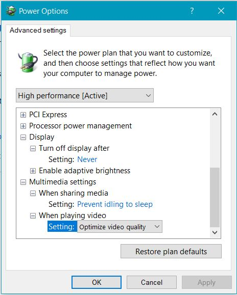 Unable To Correct Screen Timeout Solved Windows 10 Forums