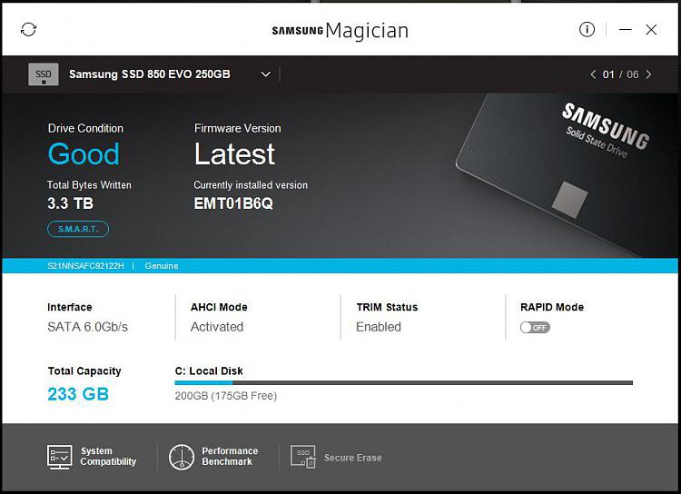 Calling SSD users. What does your 'Optimise' window show ?-samsung-magician.jpg