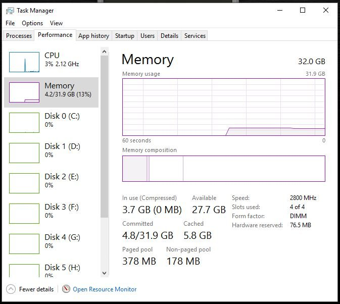 Wrong RAM speed in Windows Task Manager Solved - Windows 10 Forums