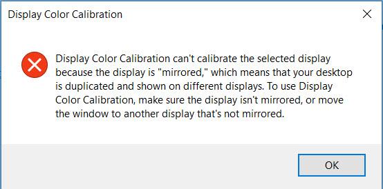 can't run Display color calibration-calibration.jpg