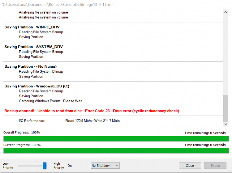 Hard Disk 100% usage when 0 MB/s is used - Windows 10 Forums