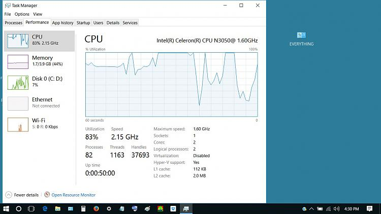 Click image for larger version.  Name:hi performance graph idle.jpg Views:7 Size:160.9 KB ID:142642