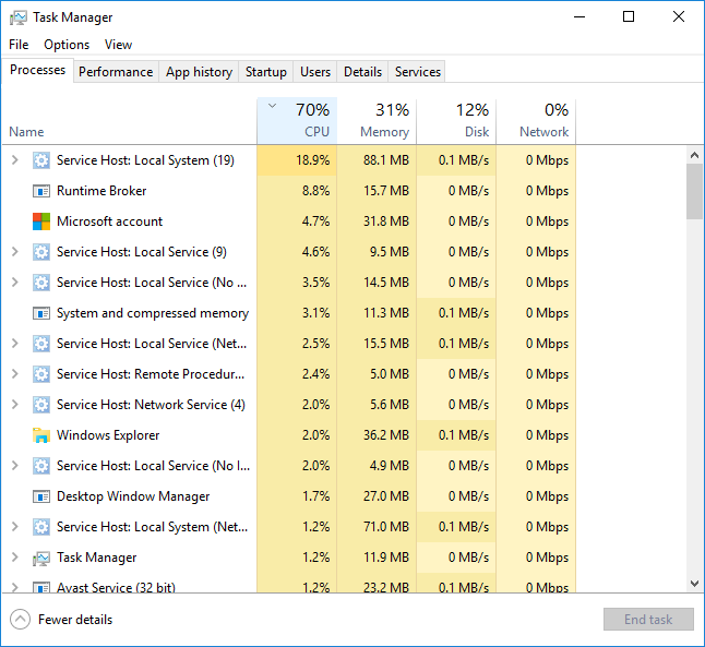 System and Compressed Memory uses 40% CPU after waking up from sleep-task_before.png
