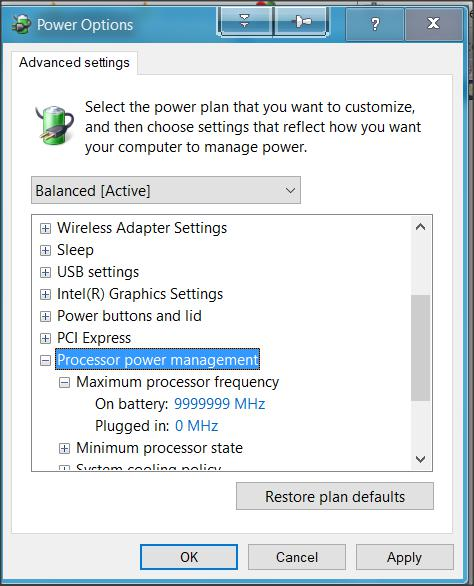 CU Power Settings? Solved - Windows 10 Forums