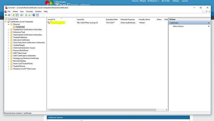 CertificateServicesClient-AutoEnrollment Warning Event ID 64