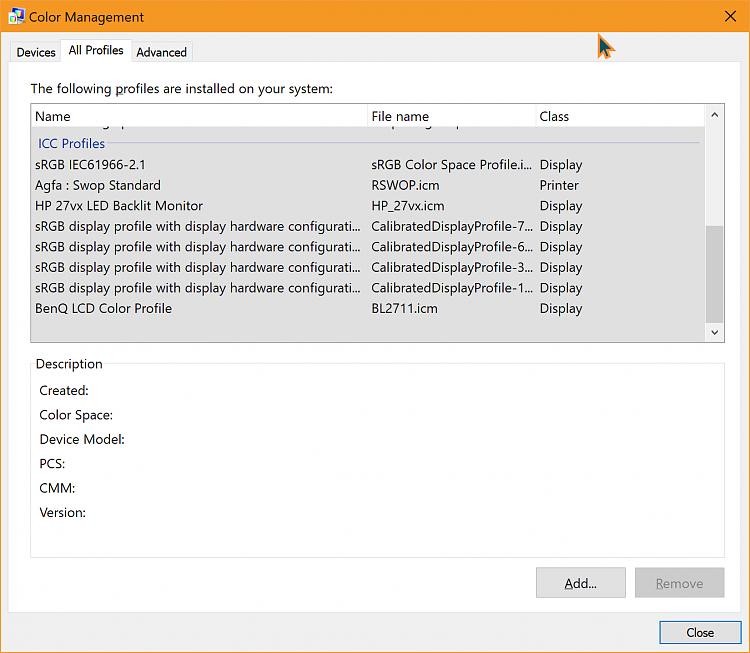 Color Profile - Windows 10 Forums