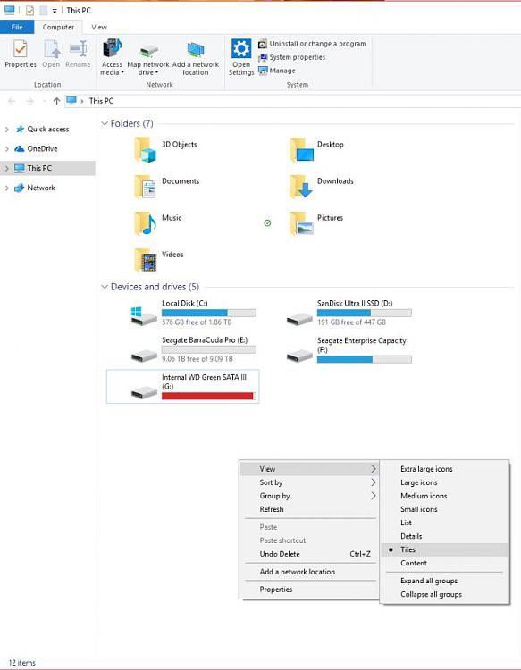 Disk spaces for select drives are not displayed under this pc (tiles)-tiles.jpg