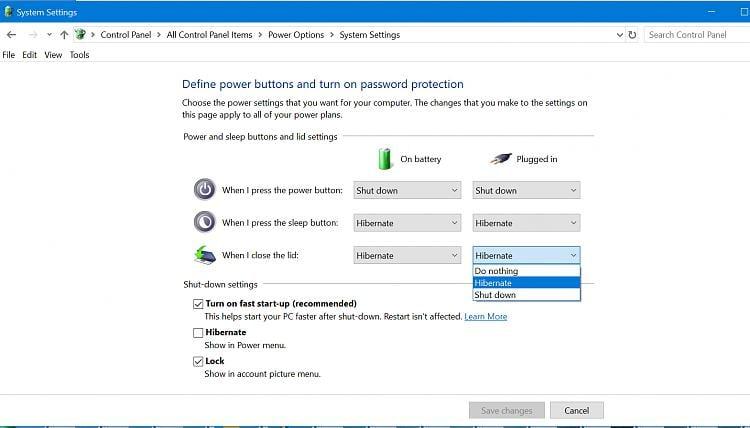 Sleep option is missing Solved - Windows 10 Forums