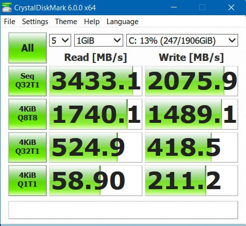 Samsung 960 EVO NVMe performance    Solved - Page 2