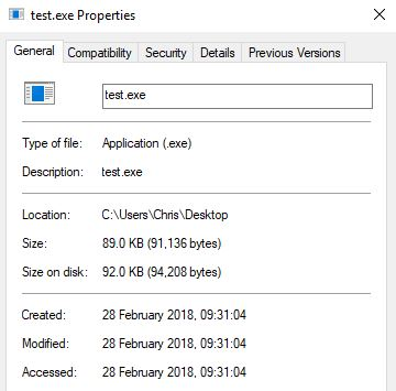 Click image for larger version.  Name:test.exe Properties.jpg Views:16 Size:22.4 KB ID:178878