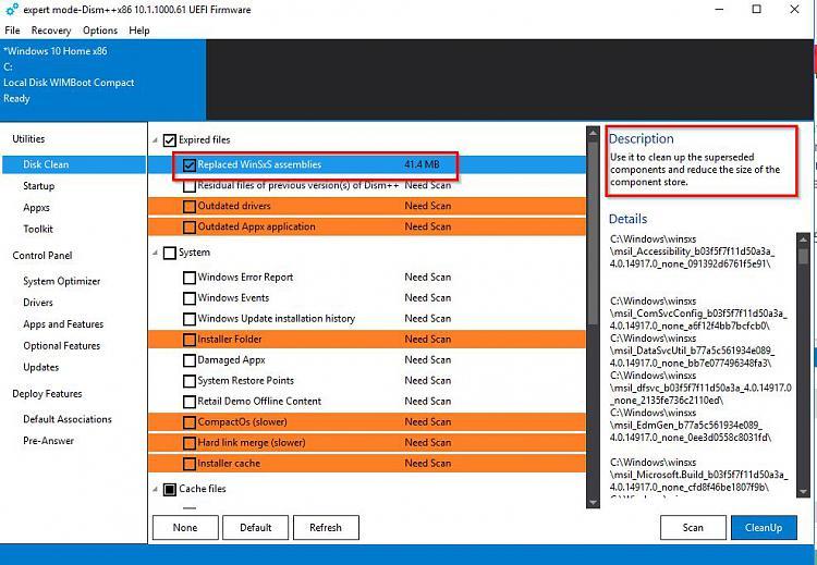 Windows 7 large winsxs
