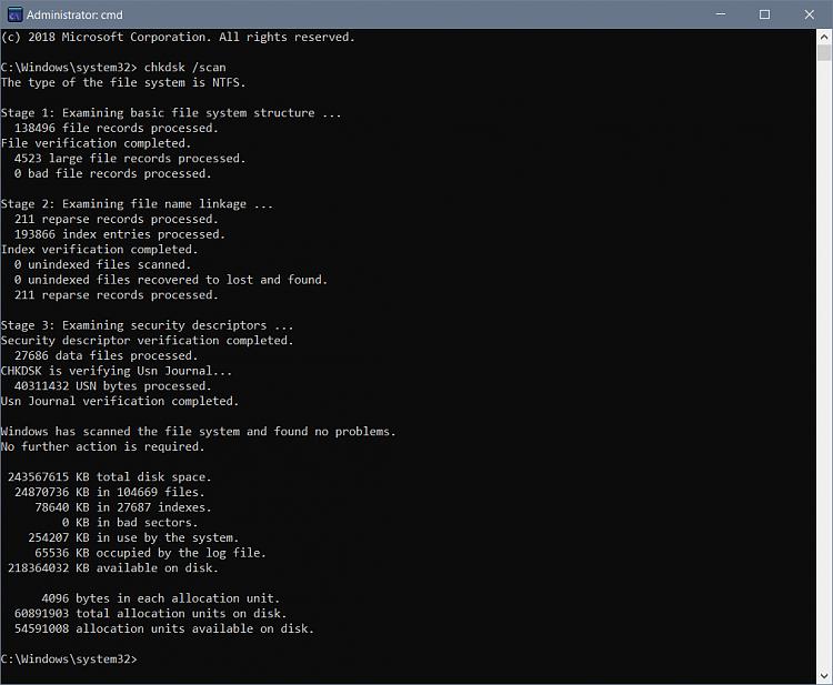 Click image for larger version.  Name:chkdsk.PNG Views:2 Size:48.2 KB ID:186984