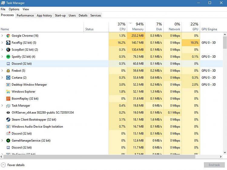 Click image for larger version.  Name:RAM USAGE.JPG Views:0 Size:98.3 KB ID:189059