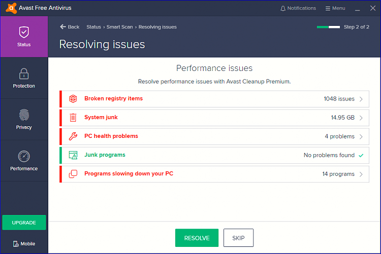Avast Is Telling Me There S Over 2 000 Errors With My Registry Solved Page 3 Windows 10 Forums