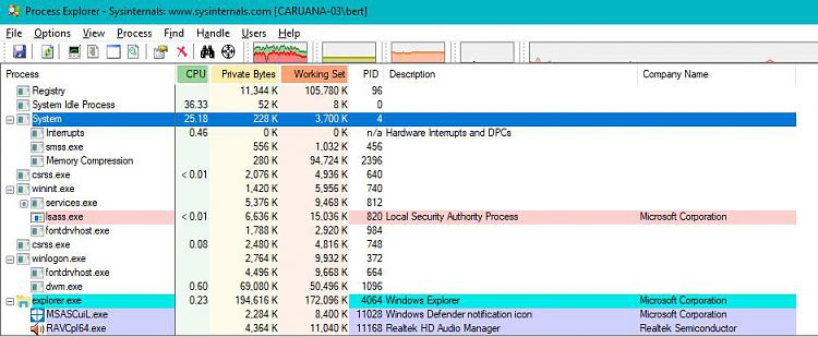 System Process High Cpu Usage Windows 10 Forums