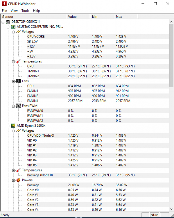 High end PC with FPS drops  High cpu temps in Speccy