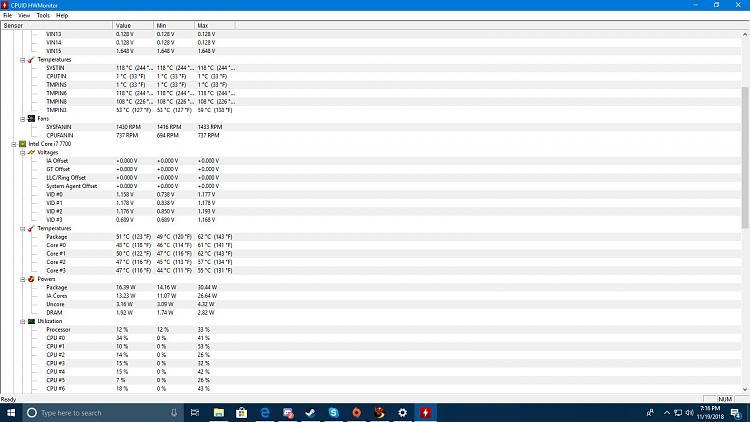 cpu id hardware monitor