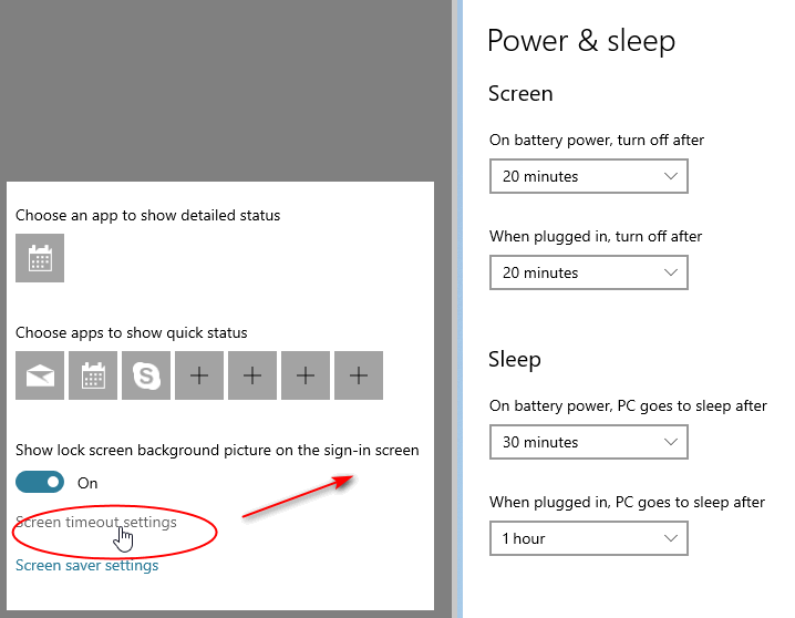 Powerplan - monitor goes to sleep earlier than set in Power and Sleep-capture-10122018-102841.png