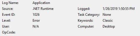 Windows Performance Analyzer (WPA) won't run  W10 Pro X64 17763 292