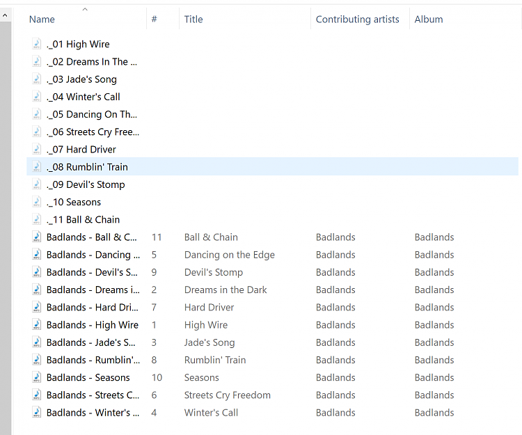 Thousands of hidden files beginning with ._ Solved - Windows 10 Forums