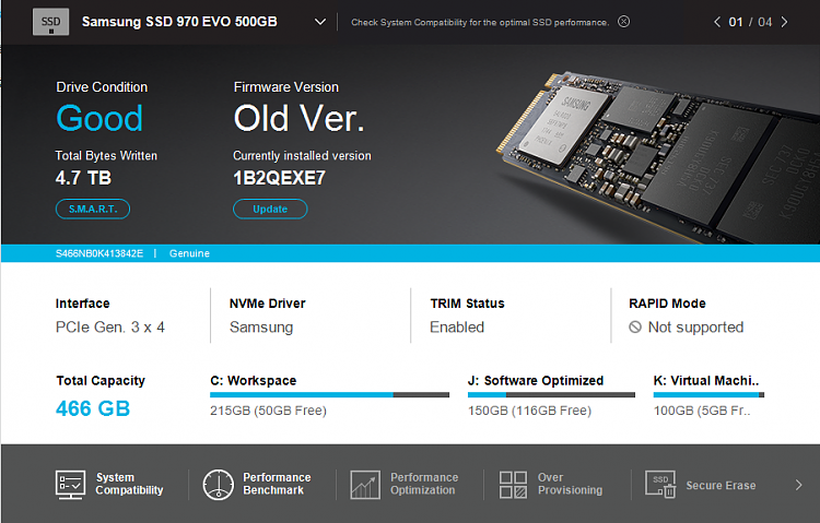 SAMSUNG 970 EVO boot slower than nomal SSD Solved - Windows 10 Forums