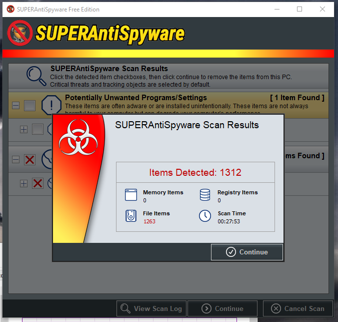 Cannot locate or delete WinDirStat files-superantispyware-1.png