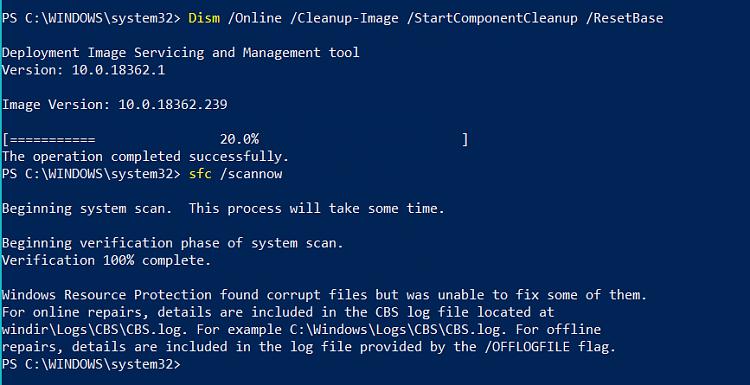 Windows cbs logs cleanup
