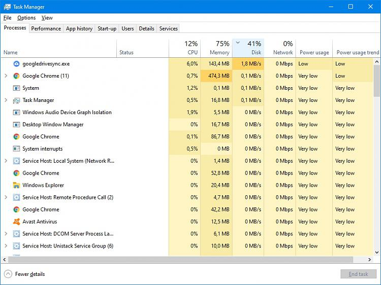 Click image for larger version.  Name:Task renewed problems 03 41% disk.jpg Views:1 Size:227.1 KB ID:247257