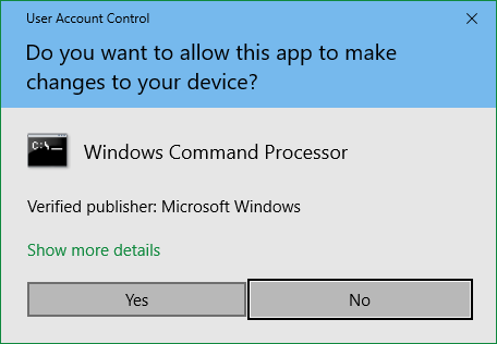 DISM/SFC-Scannow Command Prompt Tool not creating 'SFC Detail file..-admin-consentui.png
