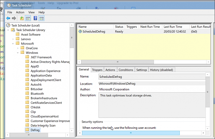 Where does windows save the defrag and optimize drives Last ran data?-1.png