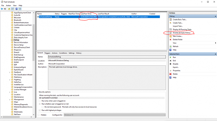 Where does windows save the defrag and optimize drives Last ran data?-ten-forums-defrag-task-scheduled-history.png
