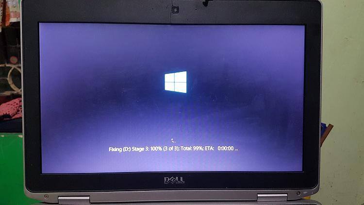 Disk check stuck at total 99%-20200626_200456.jpg