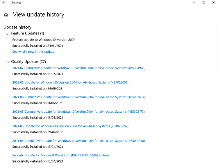 Disk 100% Used Issue, post Windows 10 Update...-recent-updates-1-.png