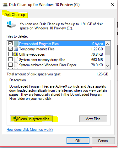 Win 10  How to get rid of Windows.old folder and content.-d1.png