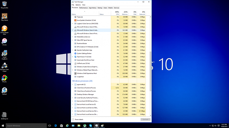 mcafee management service host high cpu usage windows 10