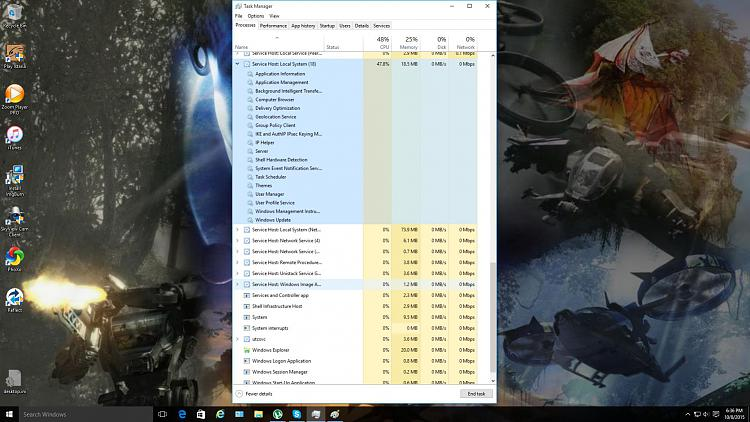 High CPU usage Solved - Windows 10 Forums