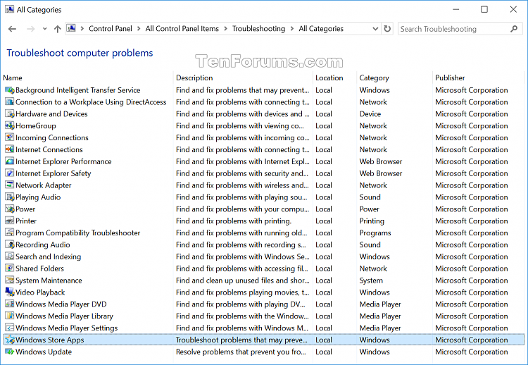 Click image for larger version.  Name:Windows_Store_Apps_troubleshooter.png Views:3 Size:128.2 KB ID:42152