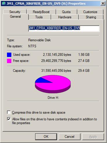 Windows 10 Pro Custom Installation-sizeonflashdrive.png