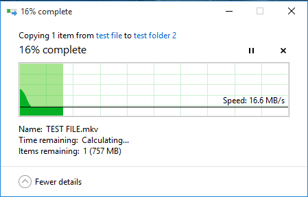 Incredibly slow file transfer - - Windows 10 Forums