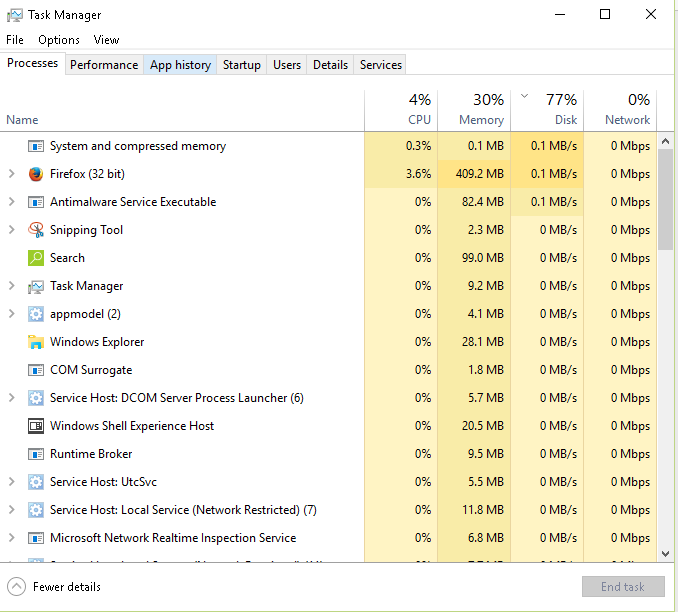 How To Solve High Disk Usage In Windows 10 Windows 10 100