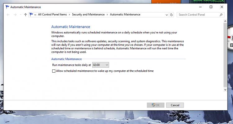 Occasional high CPU usage on Windows 10-maintenance.png