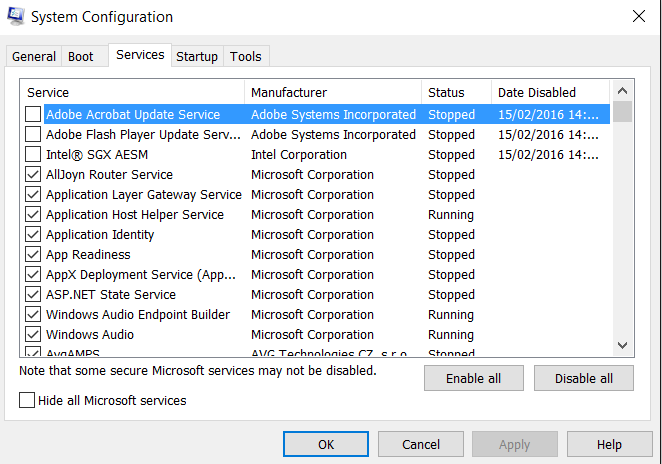 Can't Perform Clean Boot Solved - Windows 10 Forums