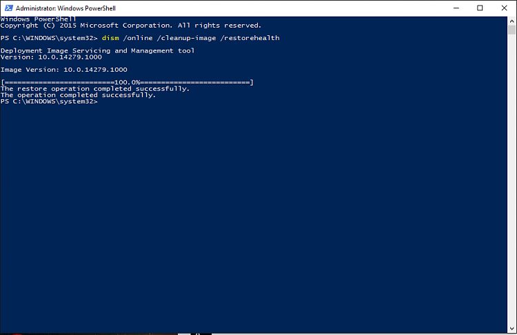 SFC and DISM will not run on build 14279 Solved - Page 2